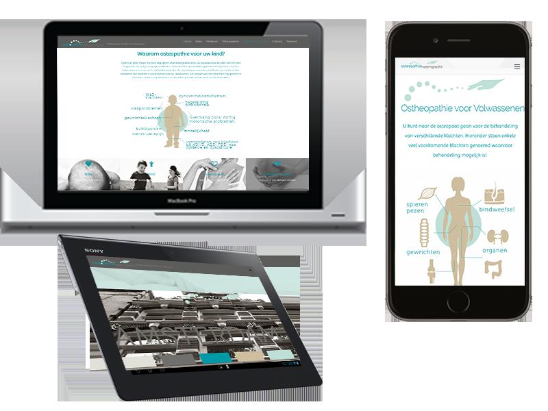 webdesign OSTEOPATHIE webkopie