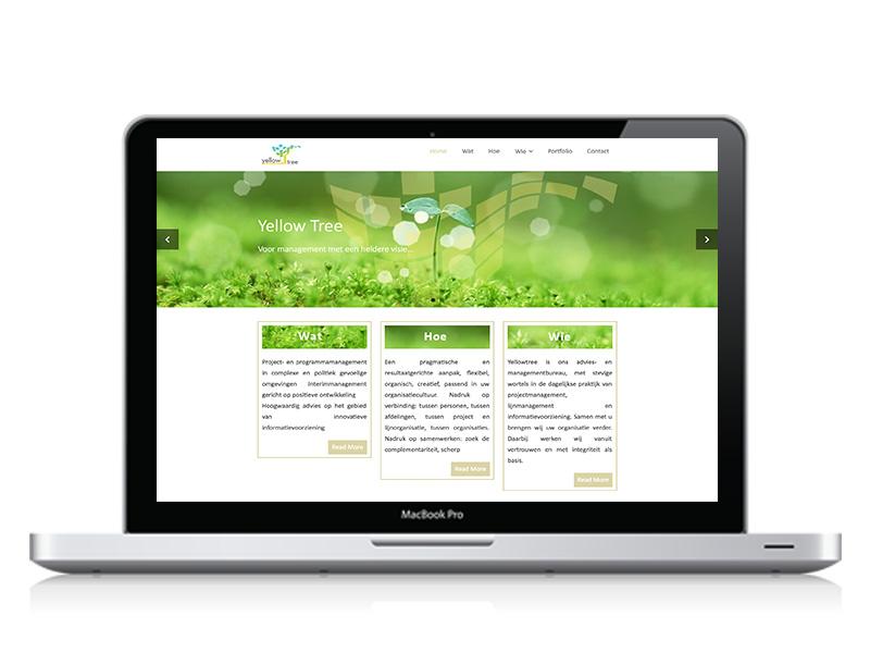 webdesign Yellowtree
