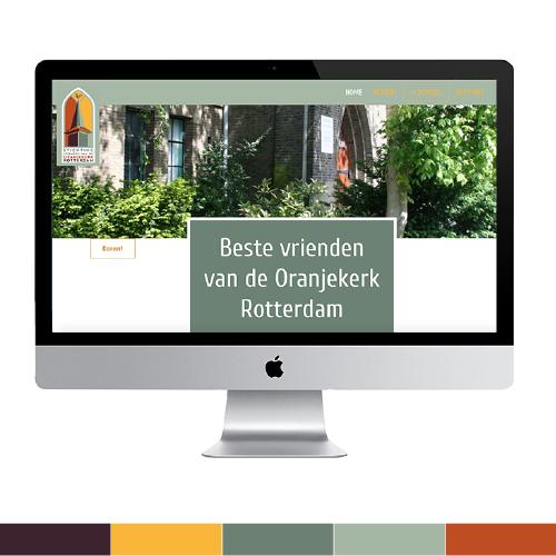 Webdesign Oranjekerk Rotterdam