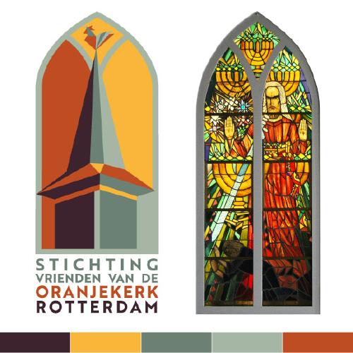 Logo design Stichting Vriednen van de Oranjekerk Rotterdam