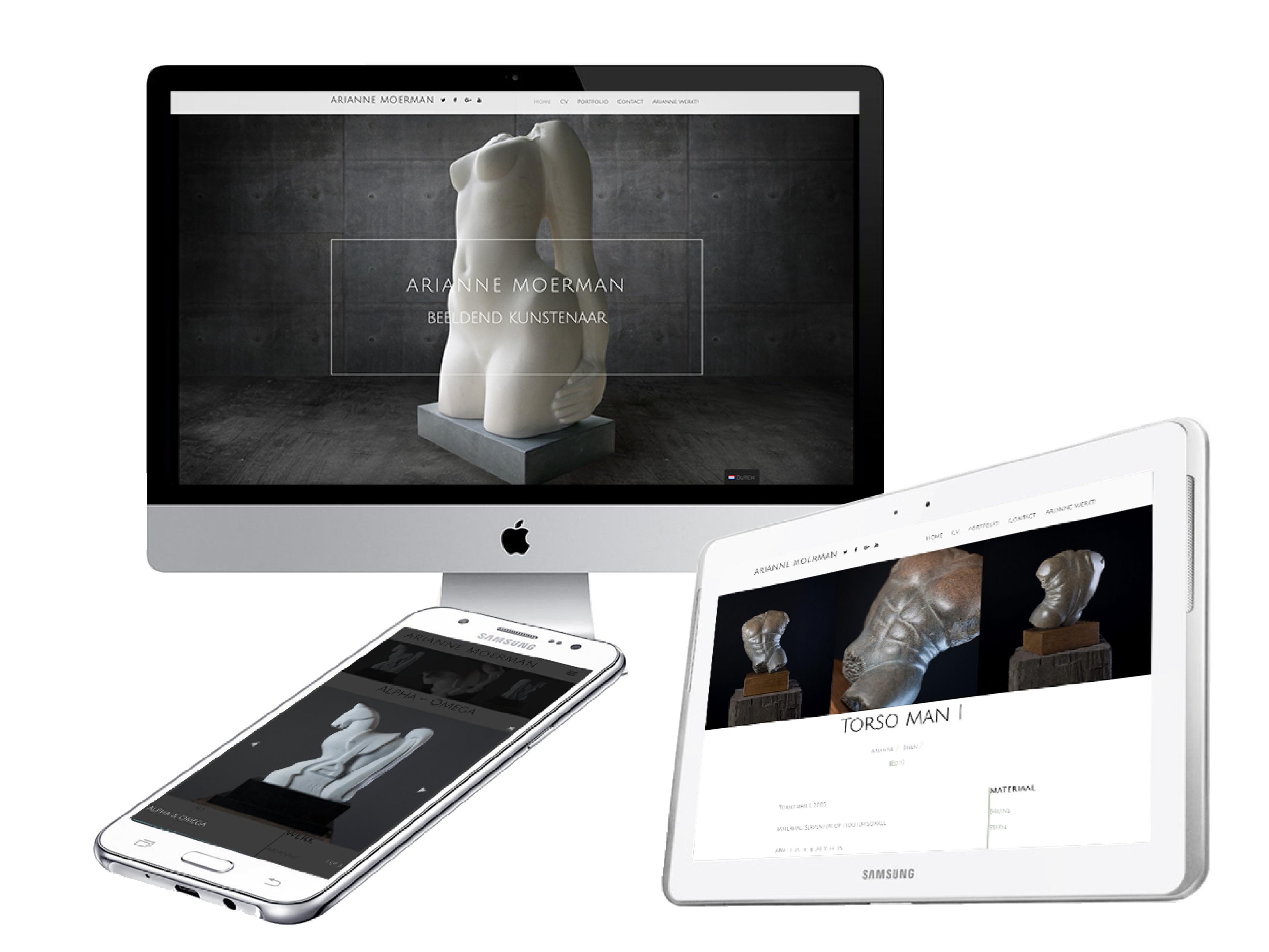 webdesign Kunstenaar